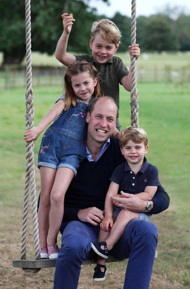 The family recently released pictures of the family for Father's Day and Prince William's birthday