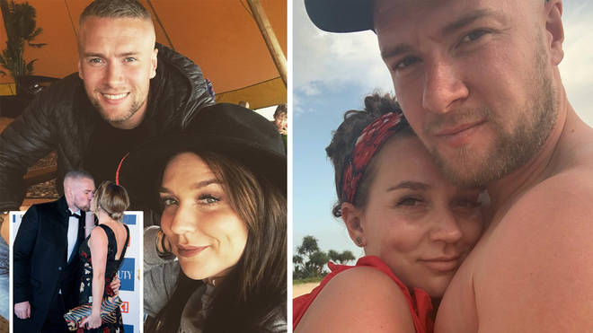 Candice Brown and husband Liam have split after two-years of marriage