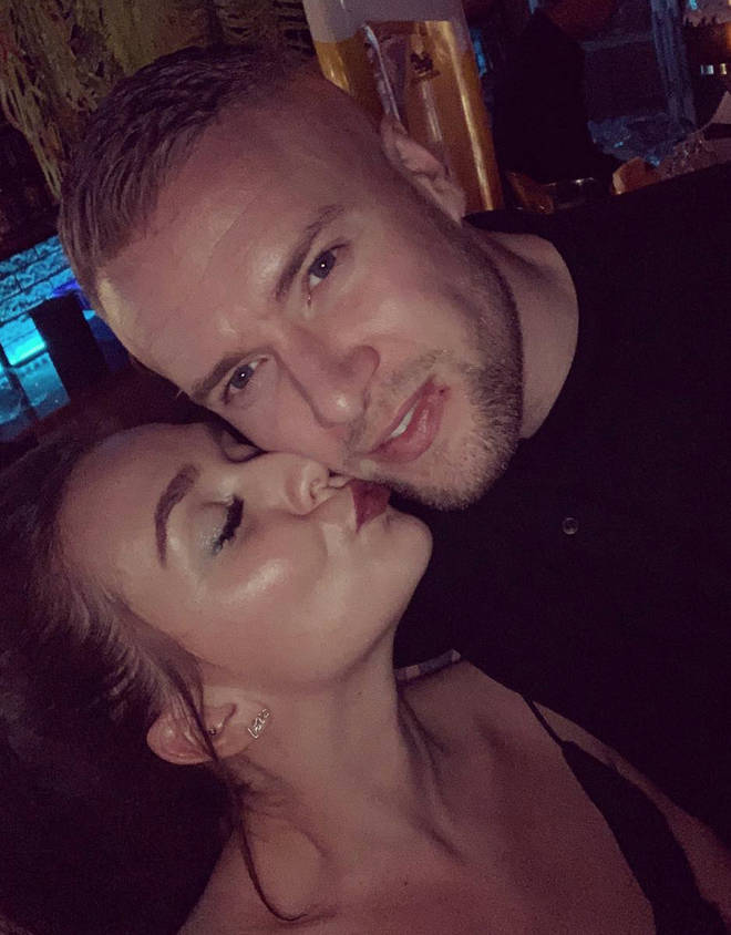 Liam Macauley has moved out of the flat he shares with Candice Brown