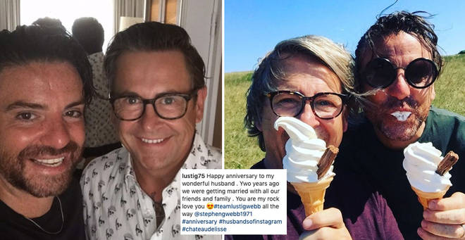 Stephen and Daniel from Gogglebox are celebrating their wedding anniversary