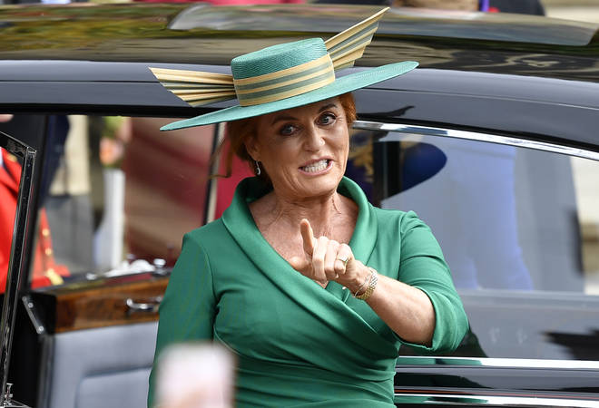 Sarah Ferguson is believed to have helped Princess Beatrice plan her big day