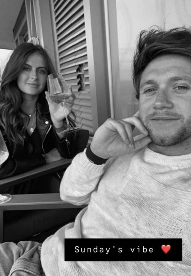 Amelia posted this photo of them to Snapchat