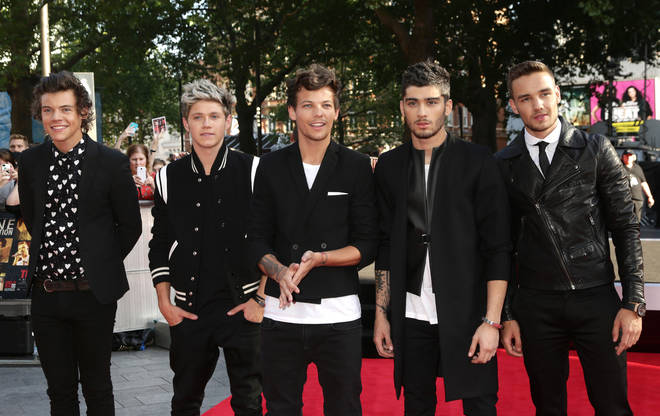 One Direction in 2013