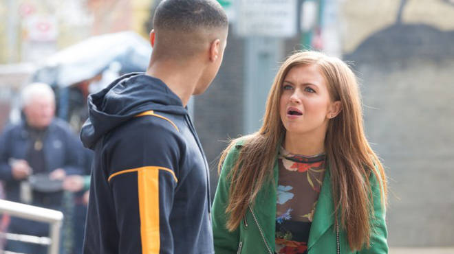 Maisie Smith plays Tiffany Butcher in EastEnders