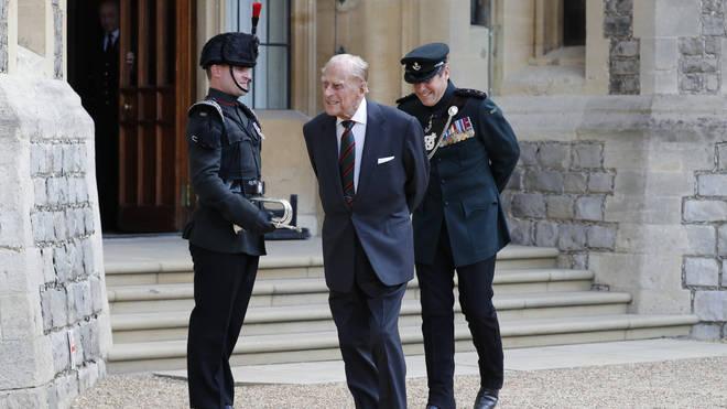 Prince Phillip retired in 2017