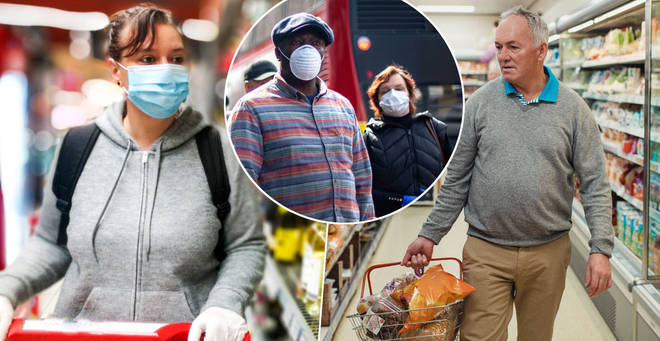 Some supermarkets won't challenge those not wearing face masks