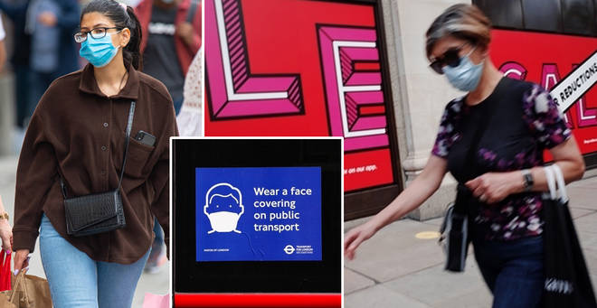 Face coverings will be compulsory in shops from Friday 24 July