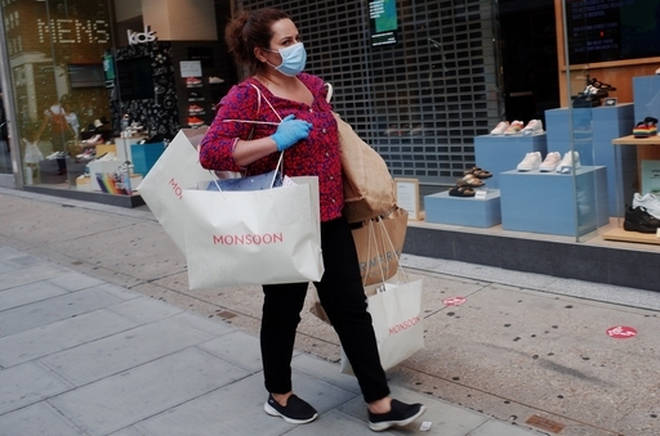 Shoppers in England will need to wear face coverings from Friday