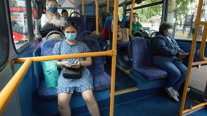 Face masks on public transport are already mandatory