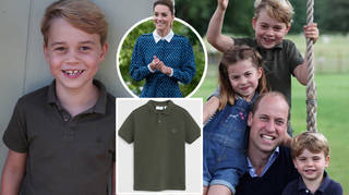 Prince George dressed in high-street for his new birthday pictures