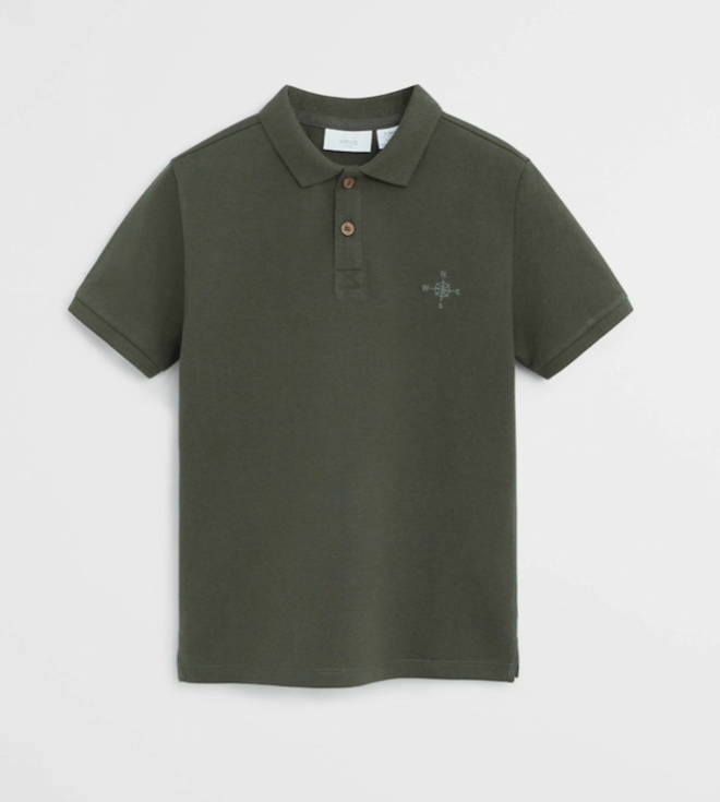 Prince George's polo shirt is by Mango and is only £7.99