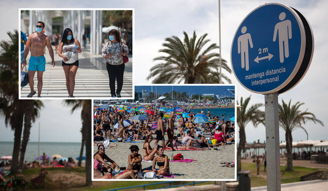 Spain has seen a rise in coronavirus cases