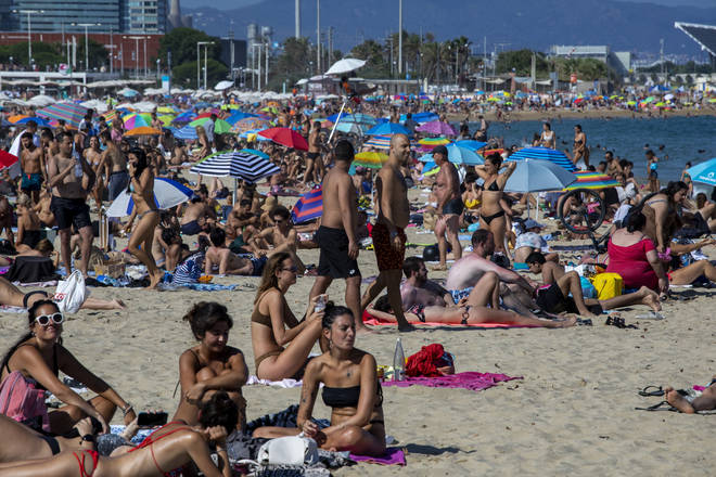 British tourists can visit Spain without needing to isolate