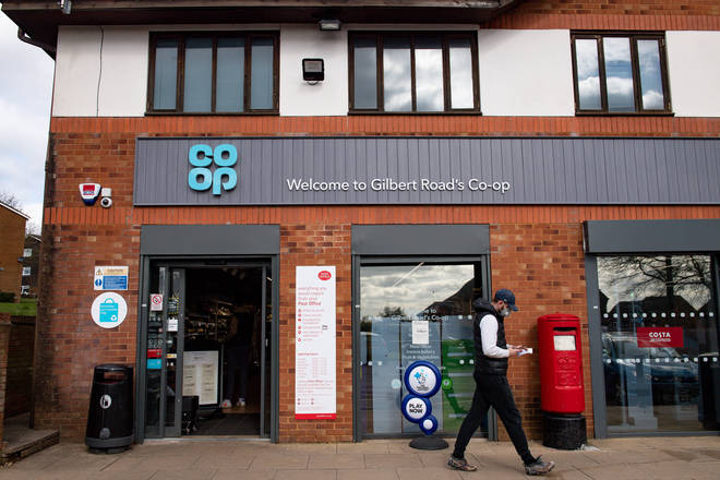 The Co-op has been donating money to charity throughout lockdown