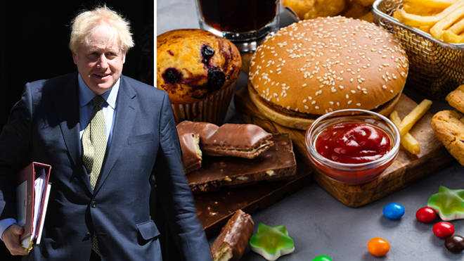 Boris Johnson reportedly plans to ditch fast food adds before the watershed