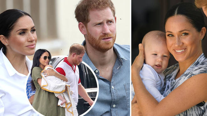 Meghan Markle and Prince Harry are taking legal action over pictures of their son, Archie, in their private garden