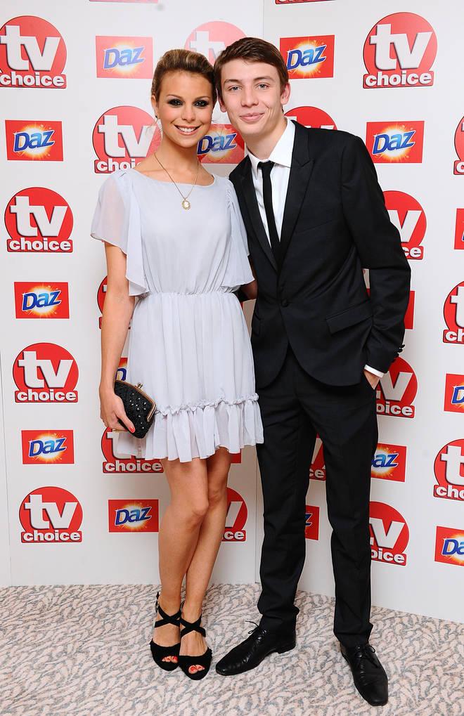 Charlie G Hawkins and his on screen partner Kylie Babbington