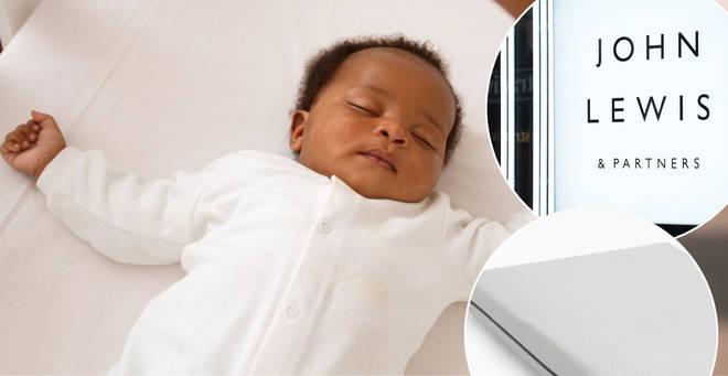 John Lewis has recalled a baby mattress