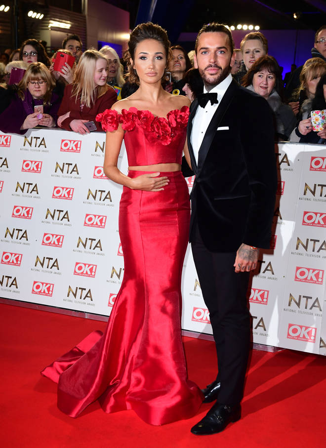Pete Wicks and Megan McKenna dated for a year and a half