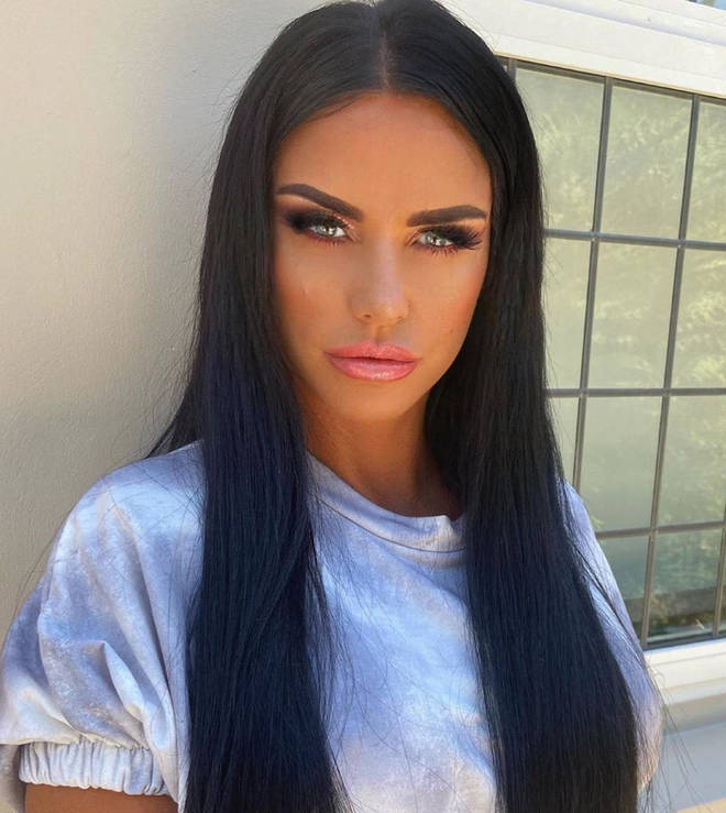 Katie Price has said she is 'devastated' to have to leave Harvey behind