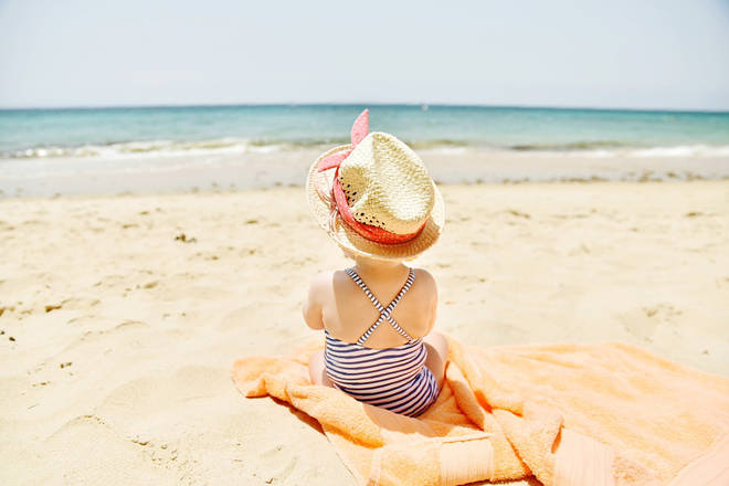 Many parents are opting to give their babies beach-themed names (stock image)
