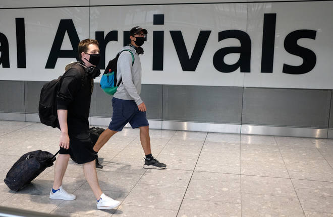 Spain was removed from the quarantine-free UK travel list after a spike of coronavirus cases