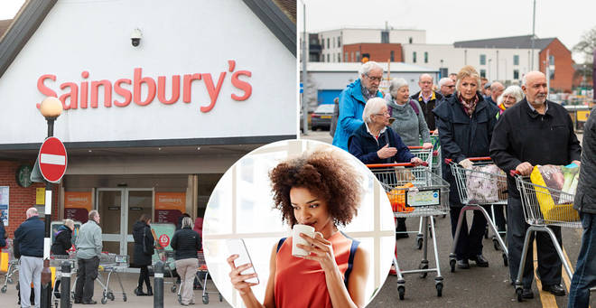 Sainsbury's is trialling a virtual queueing system
