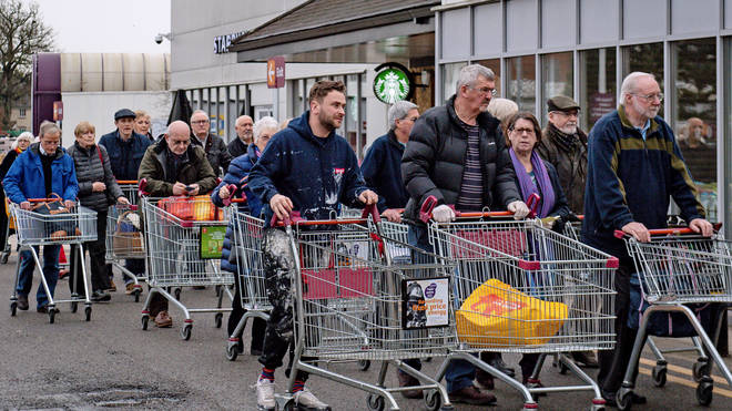 Sainsbury's is trialling a new queueing system