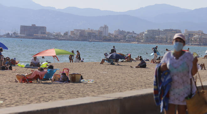 The Foreign Office has advised against all but essential travel to Spain