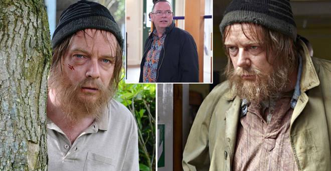 Ian Beale was homeless in 2012