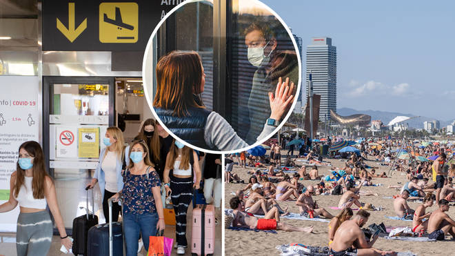 People returning from Spain to the UK are now required to quarantine for two weeks
