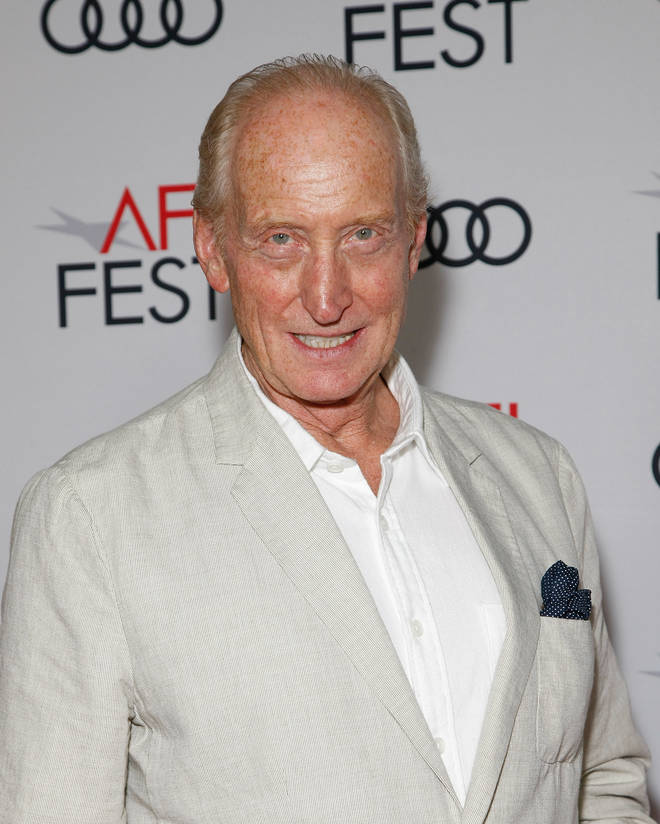 Charles Dance is Mr Webb in The Singapore Grip