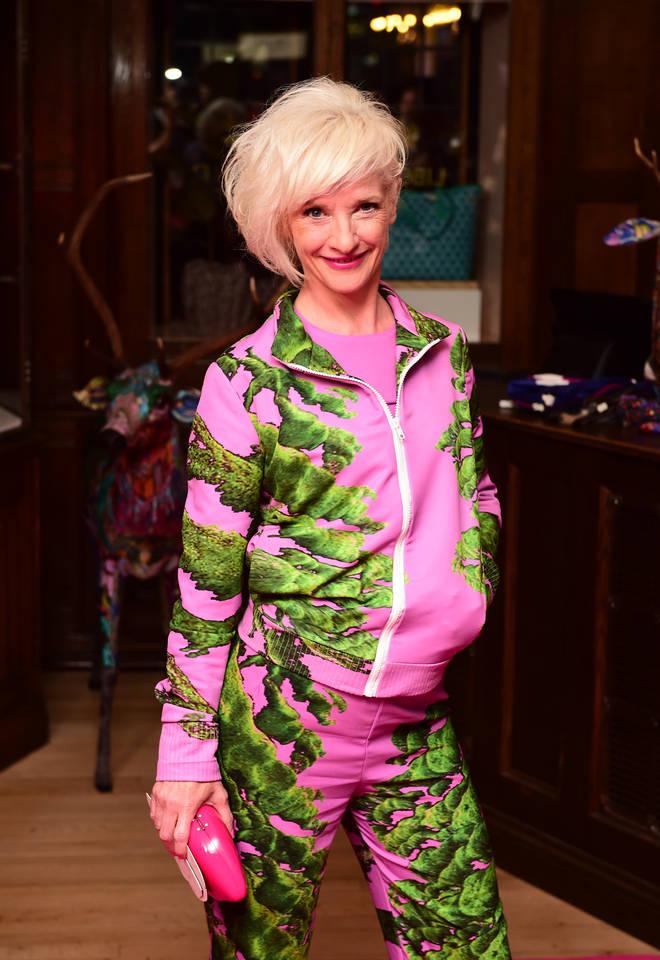 Jane Horrocks is Sylvia Blackett in The Singapore Grip