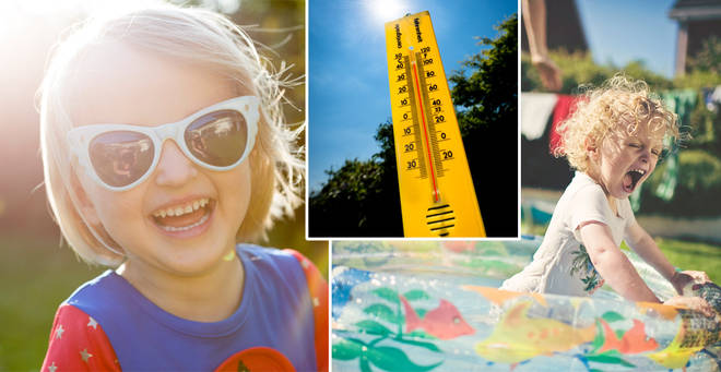 Temperatures are set to soar on Friday (stock images)
