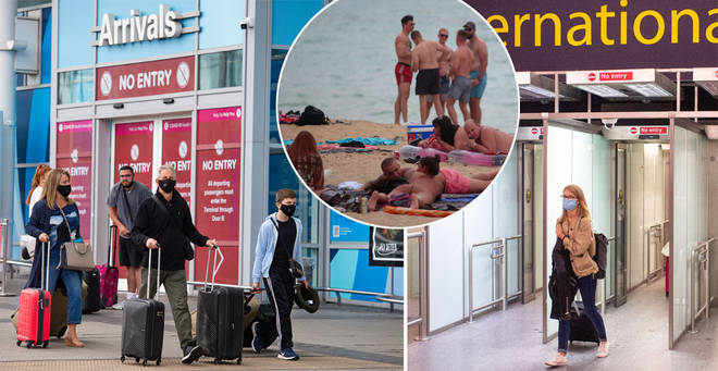 Holidaymakers could only have to quarantine for 10 days