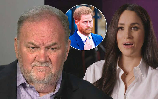Thomas hasn't been in touch with daughter Meghan for years