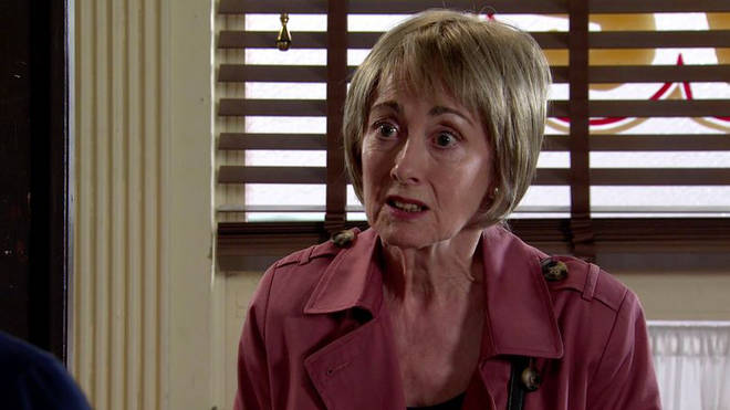 Paula Wilcox is back on Coronation Street as Elaine
