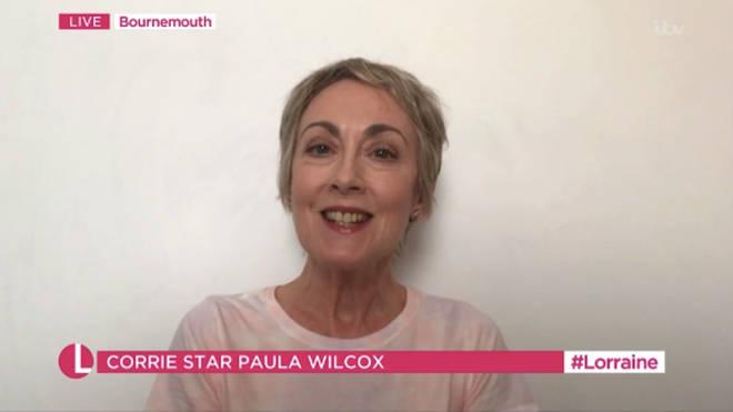 Paula Wilcox was on Coronation Street 51 years ago