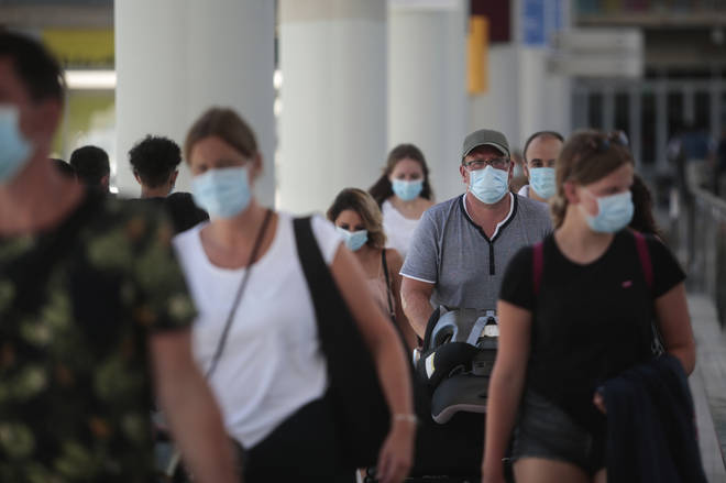 Anyone returning to the UK from Spain must now quarantine for two weeks