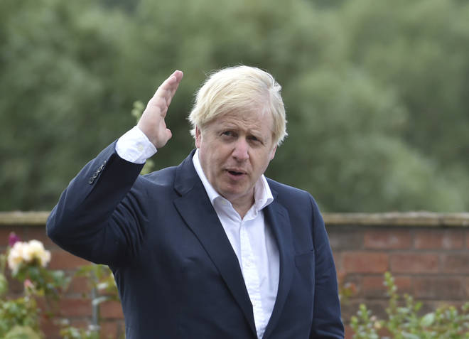 Boris Johnson has said there are signs of a second wave in Europe
