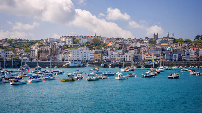 The two men moved to Guernsey for work, and were required to self-isolate for two weeks