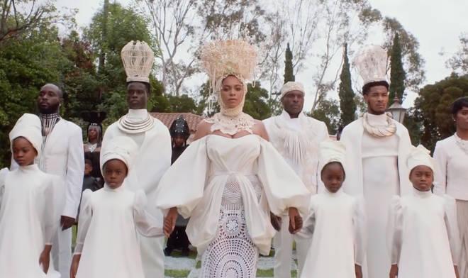 Beyoncé said the visual album has been a 'labour of love'