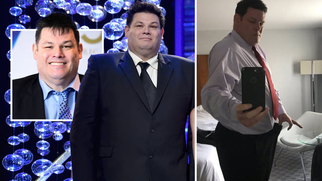 Mark Labbett has updated fans on his weight loss journey
