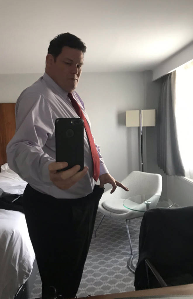 Mark Labbett joked he is now a 'skinny beast'