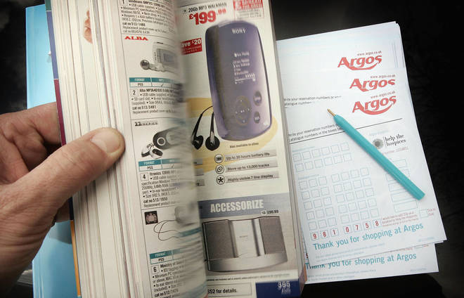 Around 1 billion copies of the Argos catalogue have been printed