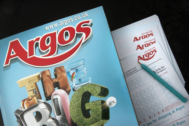 Argos are moving to a more digital set-up in store