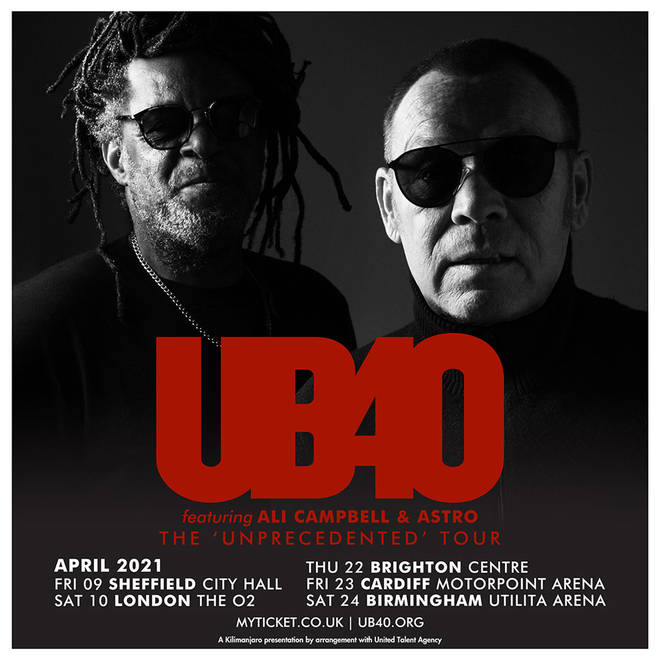 Don't miss your chance to see UB40 perform live