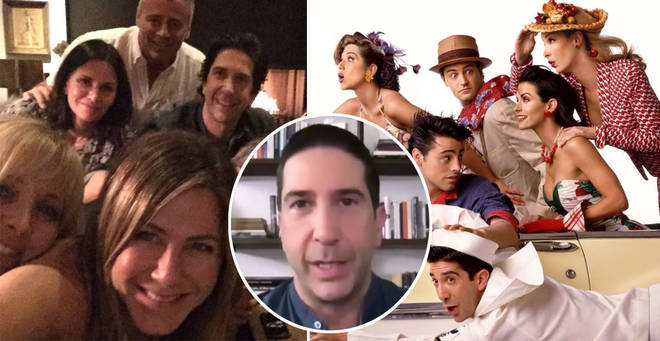 David Schwimmer has spoken out on the Friends reunion