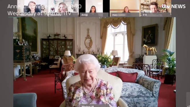 The Queen continued her charitable projects in lockdown