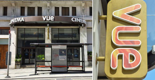 Vue cinemas will reopen next week
